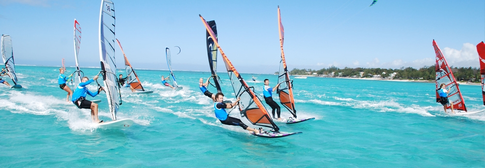 Чемпионат виндсерфинга и кайтсерфинга на Маврикий