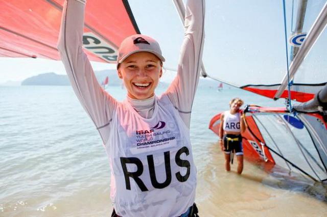 Олимпийская медаль по виндсерфингу у России
